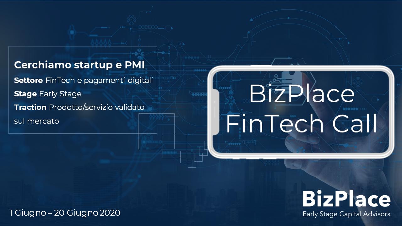 BizPlace sostiene il settore FinTech in Italia – BizPlace FinTech Call